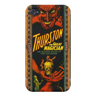 Thurston The Great! Cover For iPhone 4