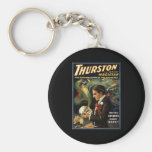 Thurston the great magician 2 key chain
