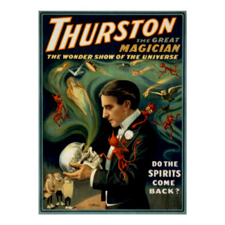 Thurston the Great Magician c. 1915 Poster