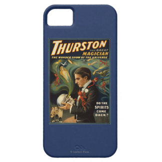 Thurston the Great Magician Holding Skull Magic iPhone SE/5/5s Case