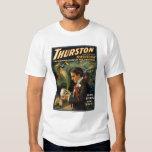 Thurston the Great Magician Holding Skull Magic Tshirt