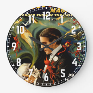 Thurston the Great Magician Large Clock