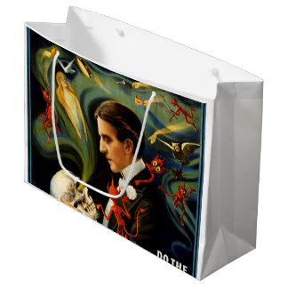 Thurston the Great Magician Large Gift Bag