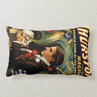Thurston the Great Magician Lumbar Pillow