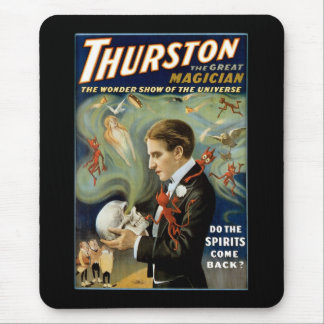 Thurston ~ The Great Magician Mouse Pad