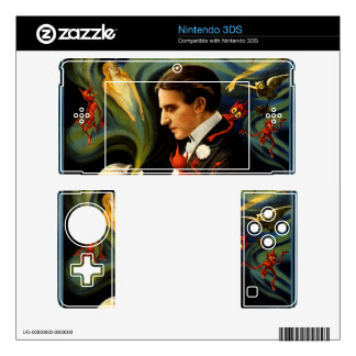 Thurston the Great Magician Nintendo 3DS Decals