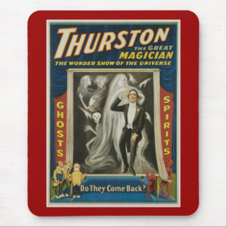 Thurston The Great Magician Vintage Advertisement Mouse Pad