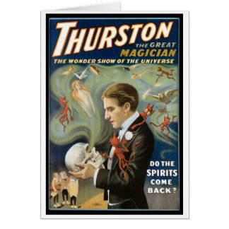 Thurston The Great Magician ~ Vintage Magic Act Card
