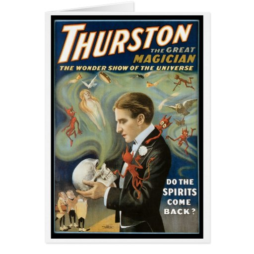 Thurston The Great Magician ~ Vintage Magic Act Cards