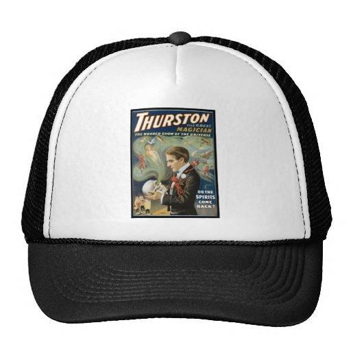 Thurston The Great Magician ~ Vintage Magic Act Trucker Hat