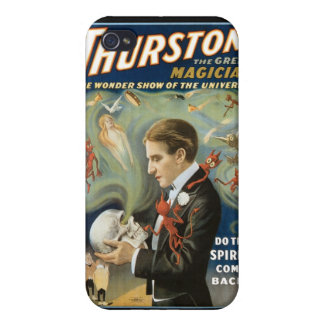 Thurston The Great Magician ~ Vintage Magic Act iPhone 4/4S Cover