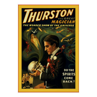 Thurston the Great Magician ~ Vintage Magician Poster