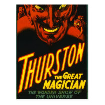 Thurston The Great! Postcard