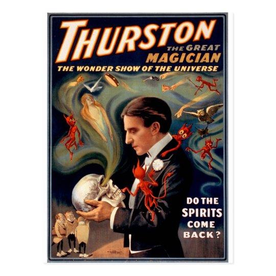 Thurston the Great Postcard