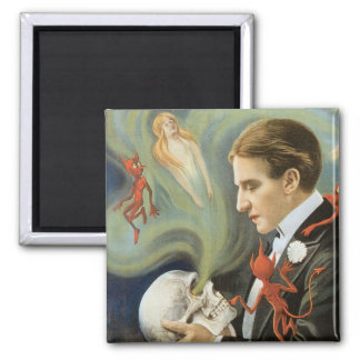 Thurston The Great Vintage Magician Poster Magnet