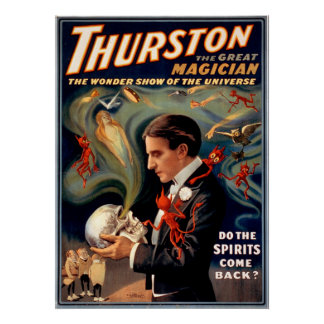 Thurston The Magician Canvas Print