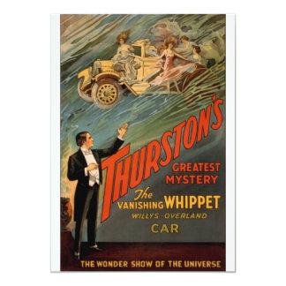 Thurston - The Vanishing Whippet Card
