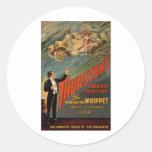 Thurston - The Vanishing Whippet Classic Round Sticker