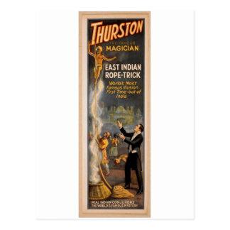 "Thurston, ""truco indio del este"" Thea retro de la  Tarjetas Postales"