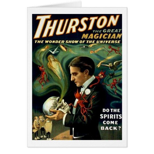 Thurston World's Famous Magician - Vintage Card