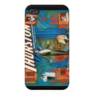 Thurston World's Greatest Magician ~ Vintage Act iPhone 4/4S Cases