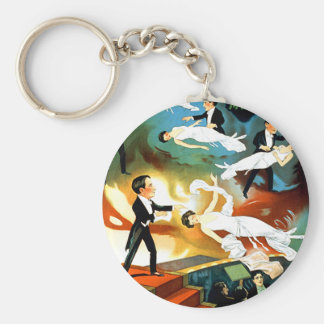 Thurston's Astounding Mystery! Basic Round Button Keychain