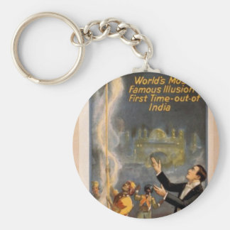 Thurston's, 'Eastern Indian Rope Trick' Retro Thea Keychains