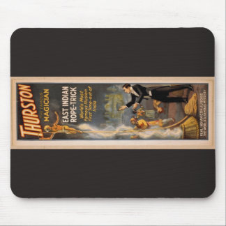 Thurston's, 'Eastern Indian Rope Trick' Retro Thea Mousepads