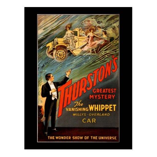 Thurston's greatest mystery postcard