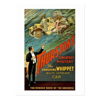 Thurston's Greatest Mystery Vintage Ad Postcard
