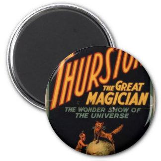 Thurston's, 'The Wonder Show of Universe' Retro Th Magnet