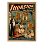 Thurston's, 'The Wonder Show of Universe' Vintage Post Card