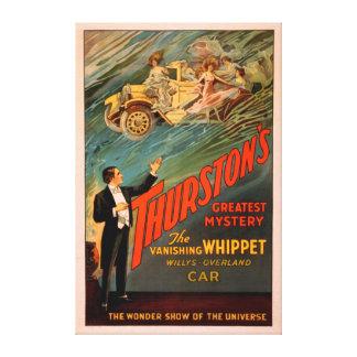 Thurston's Vanishing Whippet Willys-Overland Canvas Print