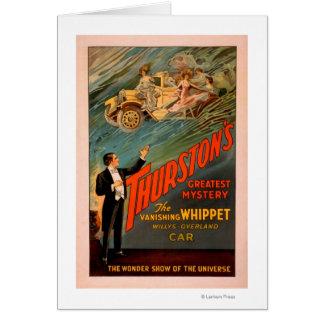 Thurston's Vanishing Whippet Willys-Overland Card