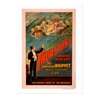 Thurston's Vanishing Whippet Willys-Overland Postcard