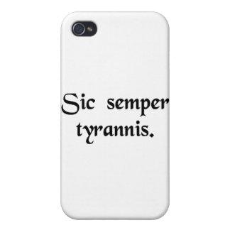 Thus always to tyrants. iPhone 4/4S case