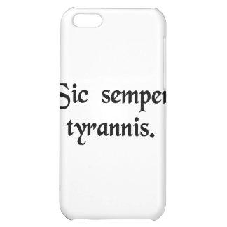 Thus always to tyrants. iPhone 5C case