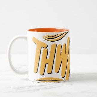 THWACK! Two-Tone COFFEE MUG