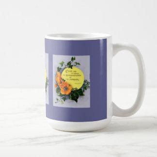 Thy amabilidad cariñosa taza de café