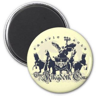 Thy Kingdom Come 2 Inch Round Magnet