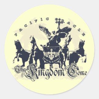 Thy Kingdom Come Classic Round Sticker