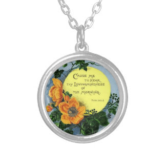 Thy Loving Kindness In The Morning Custom Jewelry