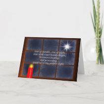 Thy Perfect Light Christmas Card