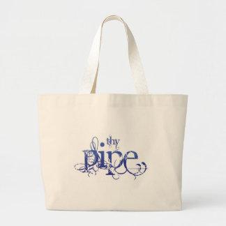 Thy Pipe gadget Jumbo Tote Bag
