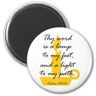 Thy Word 2 Inch Round Magnet