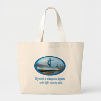 Thy word is a lamp  psalm 119 gifts tote bag