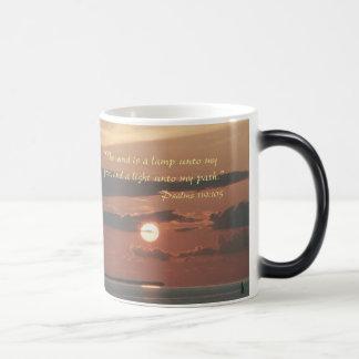 """Thy word is a lamp unto my feet"" Scripture mug"