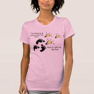 Thy Word Is A Lamp Unto My Feet T-shirt