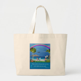 Thy word is a lamp unto my path  psalm 119 items bag