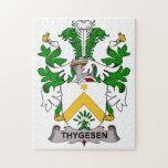 Thygesen Family Crest Jigsaw Puzzles